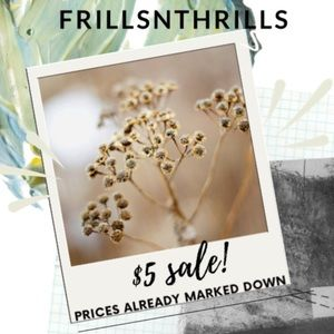 $5 SALE! Sort low to high! Prices already reduced